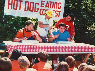 Meatballs Hot Dog Eating Contest