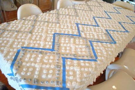 Moroccan Wedding Blanket DIY