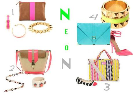 TRENDS TUTORIAL. PART ONE: neon accessories