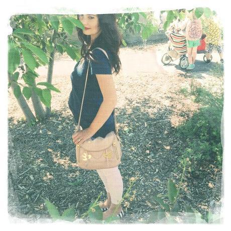 Les Femme MODA: half-tuck and polka dots