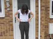 OOTD|| Primark Heart Print Trousers