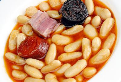 Fabada (rich stew of beans and pork)