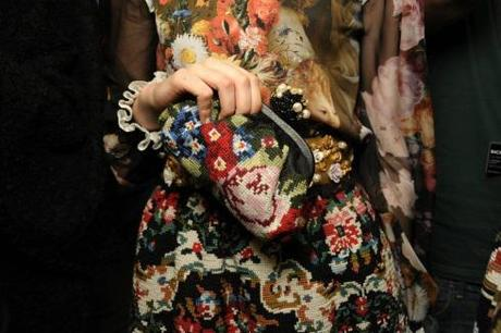 All Things Tapestry: Dolce & Gabbana A/W 2013