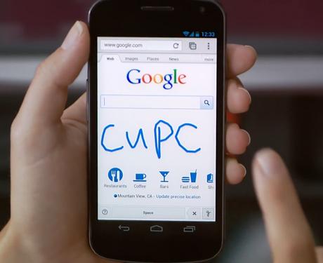 Google Handwrite Search