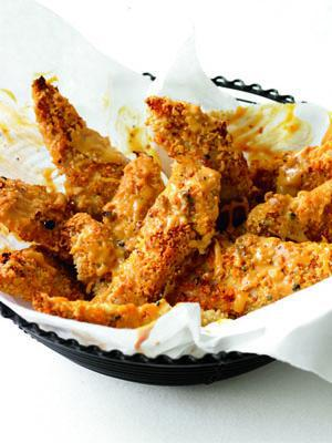 Healthy Sweet and Spicy Chicken Fingers