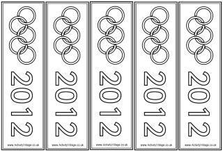Olympic bookmarks