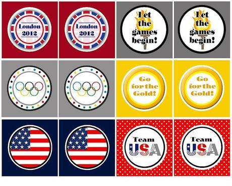 Free Printable Friday:  Olympics