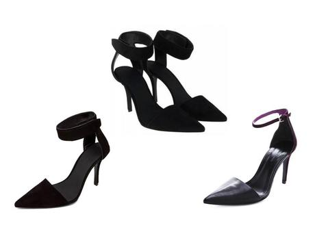 The Zara ankle-strap suede shoes