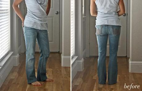 DIY // Tie dye jeans