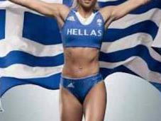 Greek Woman Kicked 2012 Olympics