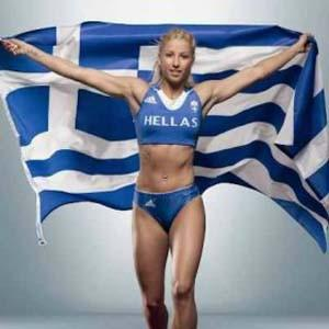 Greek Woman Kicked Out of 2012 Olympics