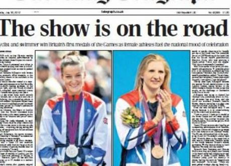 Team GB up and running at London 2012 as Rebecca Adlington and Lizzie Armitstead win medals