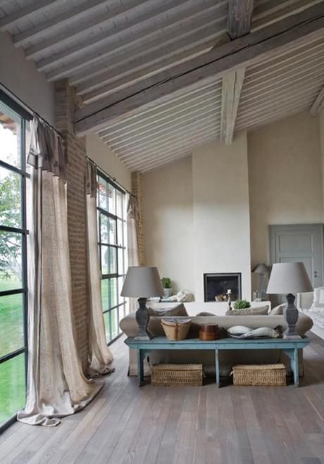 Interior Design Living Room Decor Draperies
