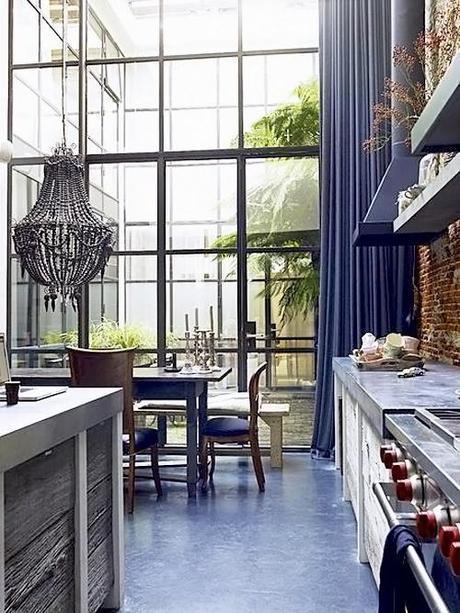 Interior Design Dining Room Draperies