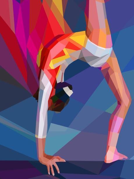 Lovely Geometric Illustrations For The Olympics 2012   Art