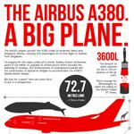 World's Largest Plane infographic