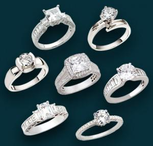 The Customary Diamond Engagement Ring Styles & Settings