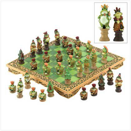 Frog Chess Set