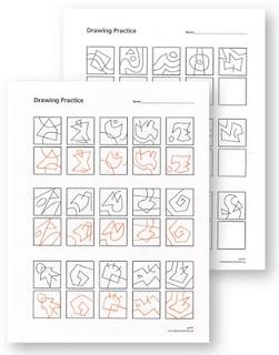 Drawing Practice Sheets, Grades 3-5