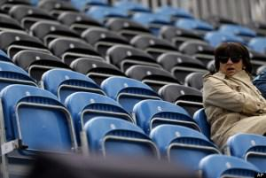 LOCOG Struggles to Fill Seats Fairly at the £2 billion London Games