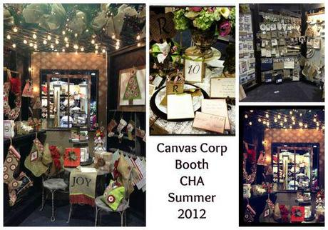 CHA Canvas Corp Booth summer 2012
