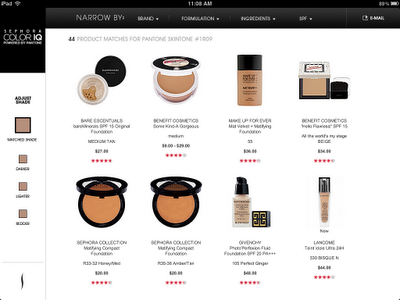 Get Your Perfect Match w/ Sephora + Pantone Color IQ Precise Foundation Shades