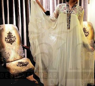 Latest Summer Dresses by Sajh Designer 2012