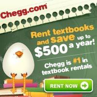 Chegg - Rent textbooks and save!