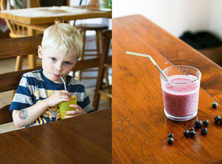 Mushberry Smoothie