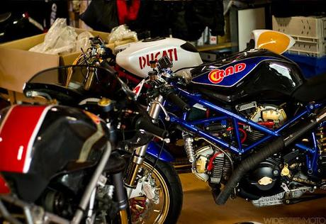 Radical Ducati workshop