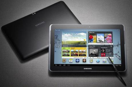 The new Samsung Galaxy Note 10.1