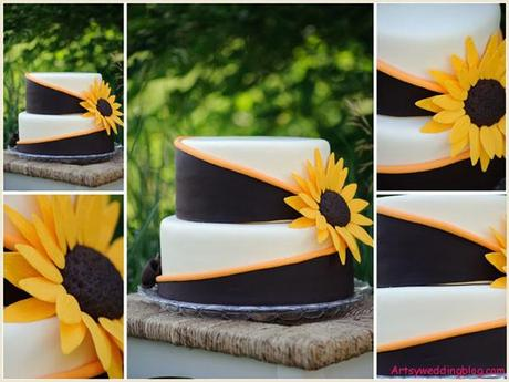 A Vibrant Sunflower Inspired Wedding