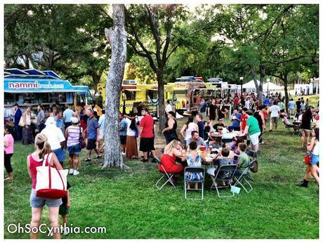 Cedars Food Park was a Lip Smackin' Knee Slappin' Good Time