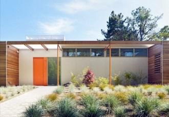 Modern case study house