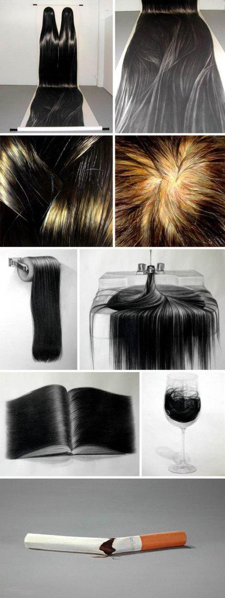 Hong Chun Zhang – Hair Illustrations