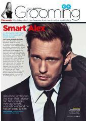 Alex is Styling in September's GQ UK