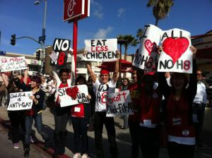 "Chick-fil-A ""war"" creates animosity between opposing sides of gay marriage debate"