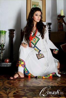 Qimash Latest Eid Collection For Women  2012
