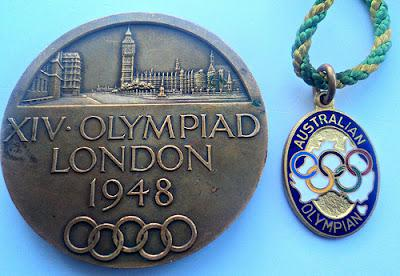 I'm proud of my grandfather, a 1948 London Olympian