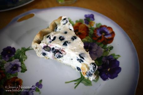 Blueberry Cream Pie Recipe