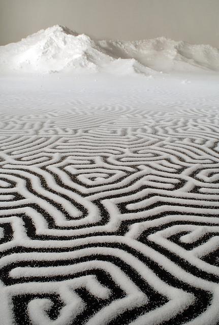 Motoi Yamamoto – Salt Installations