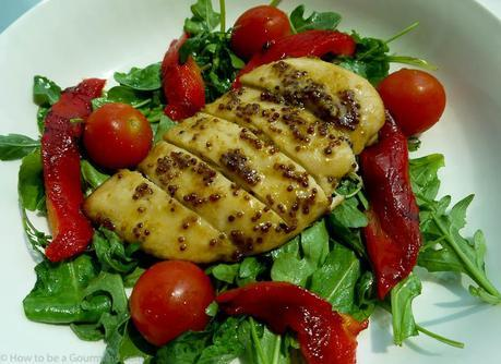 Great way to eat grilled chicken