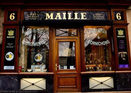 Maille Mustard Shop in Paris