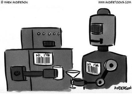 Robot Cartoon #5518 by Andertoons