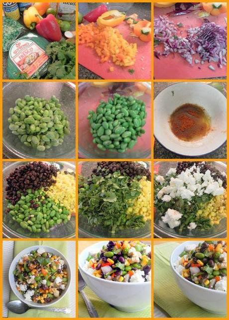 Bejeweled salsa cruda -collage