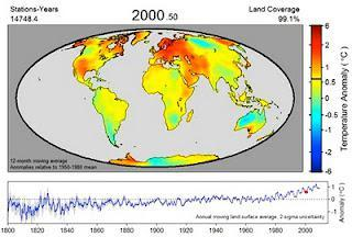 Video animation shows 2011 ninth warmest year on record