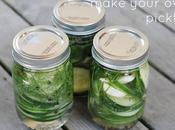 Summer Snackin'--Make Your Pickles