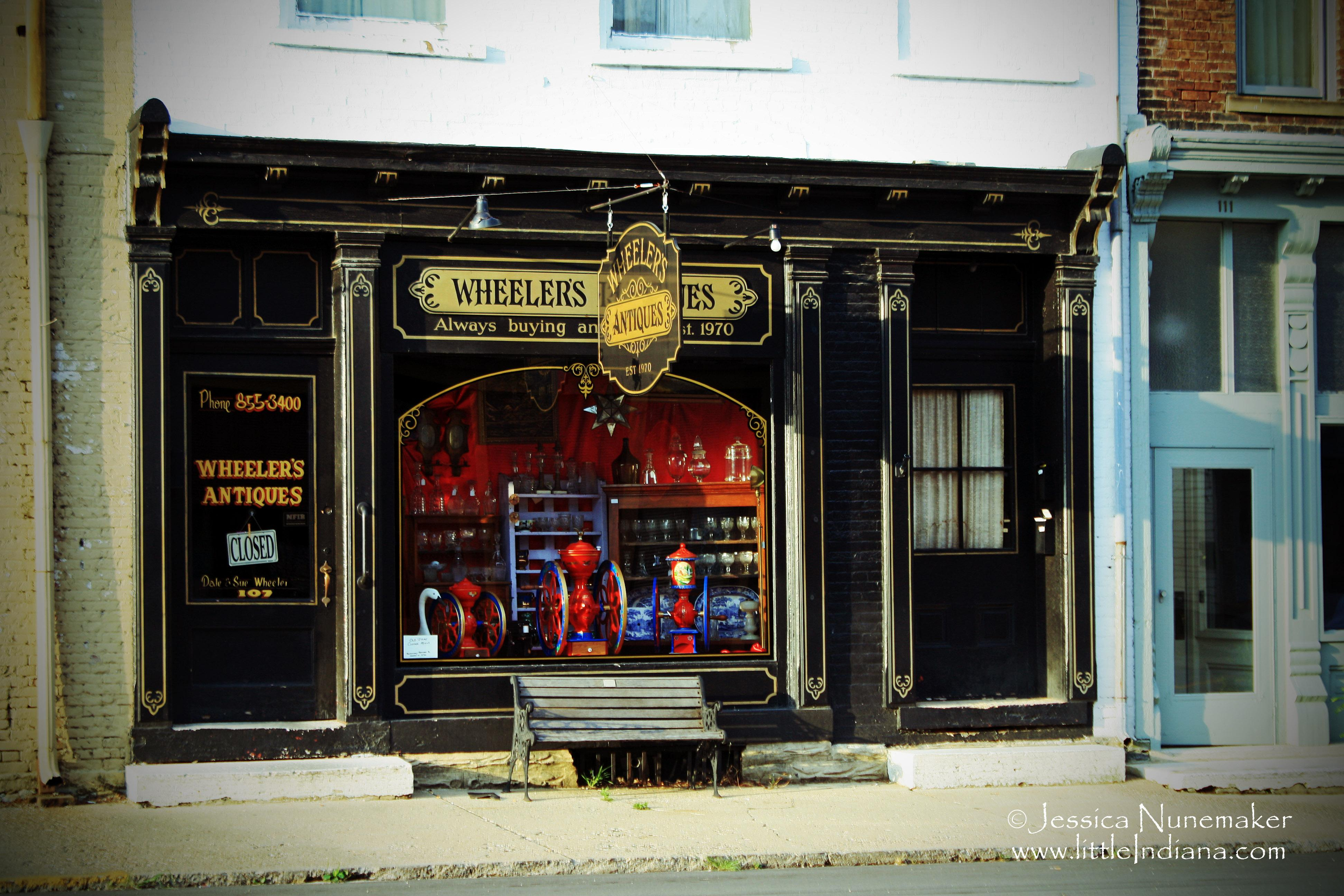 Wheeler's Antiques in Centerville, Indiana: Two Shops, One ...