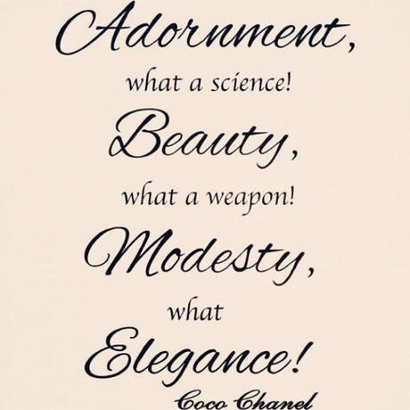 Coco Chanel Fashion Quotes Sayings Cute Woman Elegant Quotes