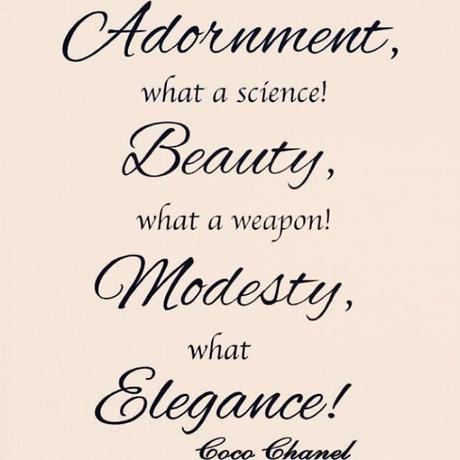True Cocochanel Fashion Beauty Adornment Elegance
